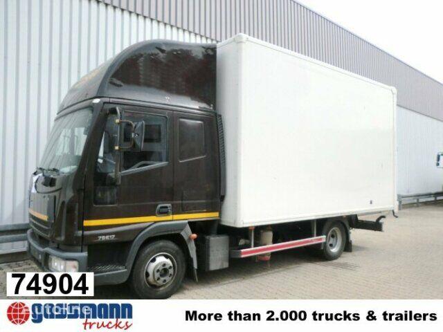 камион фургон IVECO EuroCargo 75 E 17/4x2 Standheizung/Klima