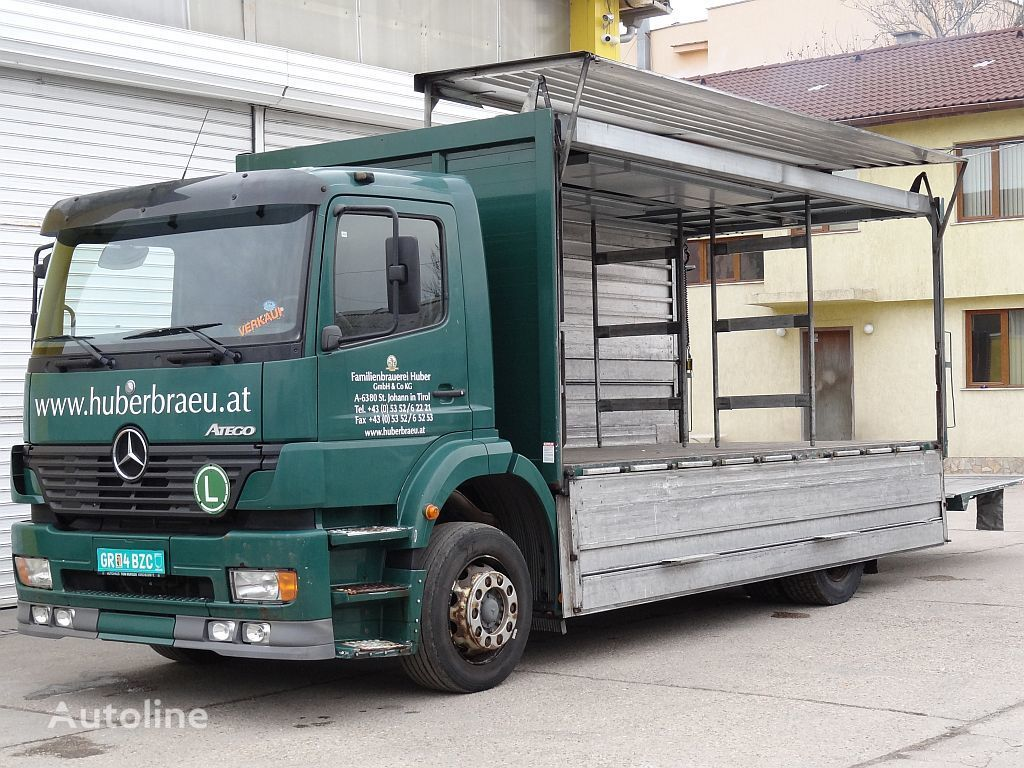 камион фургон MERCEDES-BENZ 1828 ATEGO,LBW, Getränkeaufbau