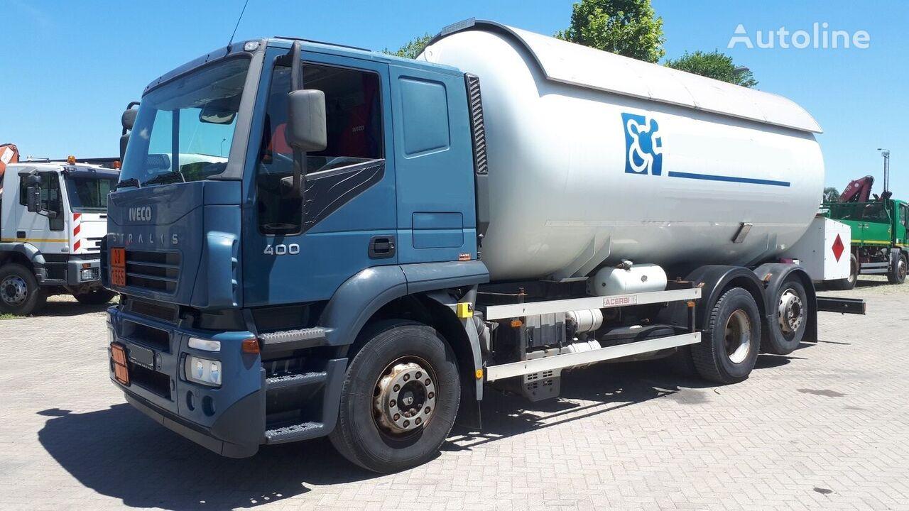 камион газовоз IVECO AT260S40 25m3 52000km