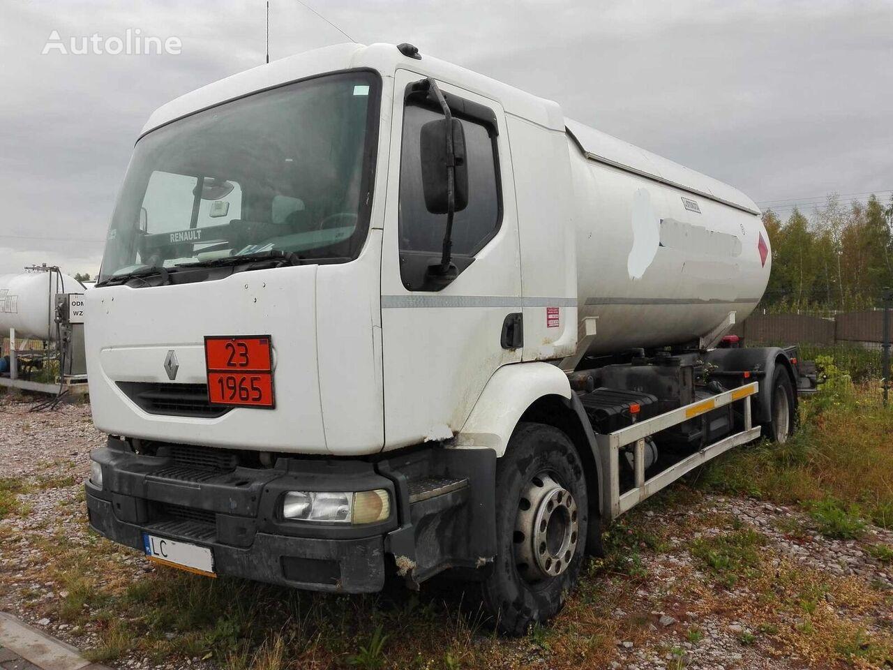 камион газовоз RENAULT Midlum 220 dci