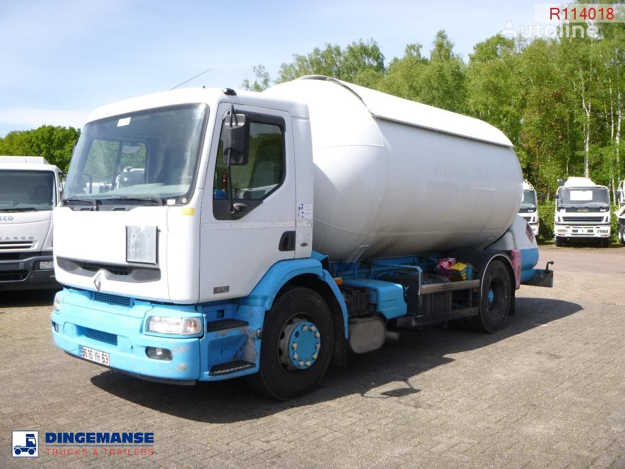 камион газовоз RENAULT Premium 270 4x2 gas tank 19.7 m3