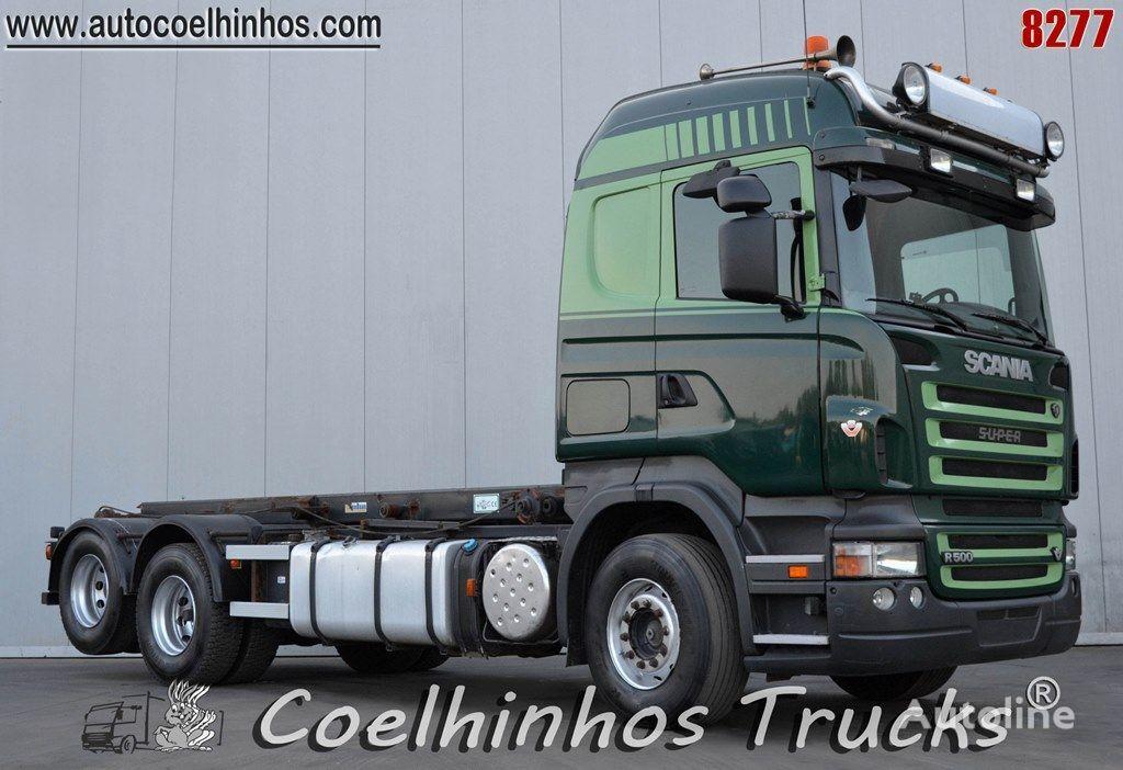 камион кабелна система SCANIA R 500 // Steel Suspension + retarder