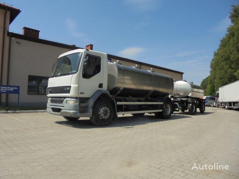 камион млековоз DAF LF 55.250 + цистерна