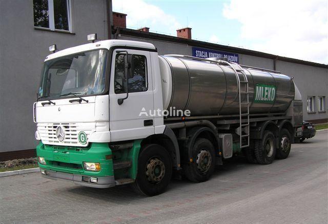 камион млековоз MERCEDES-BENZ ACTROS 3340