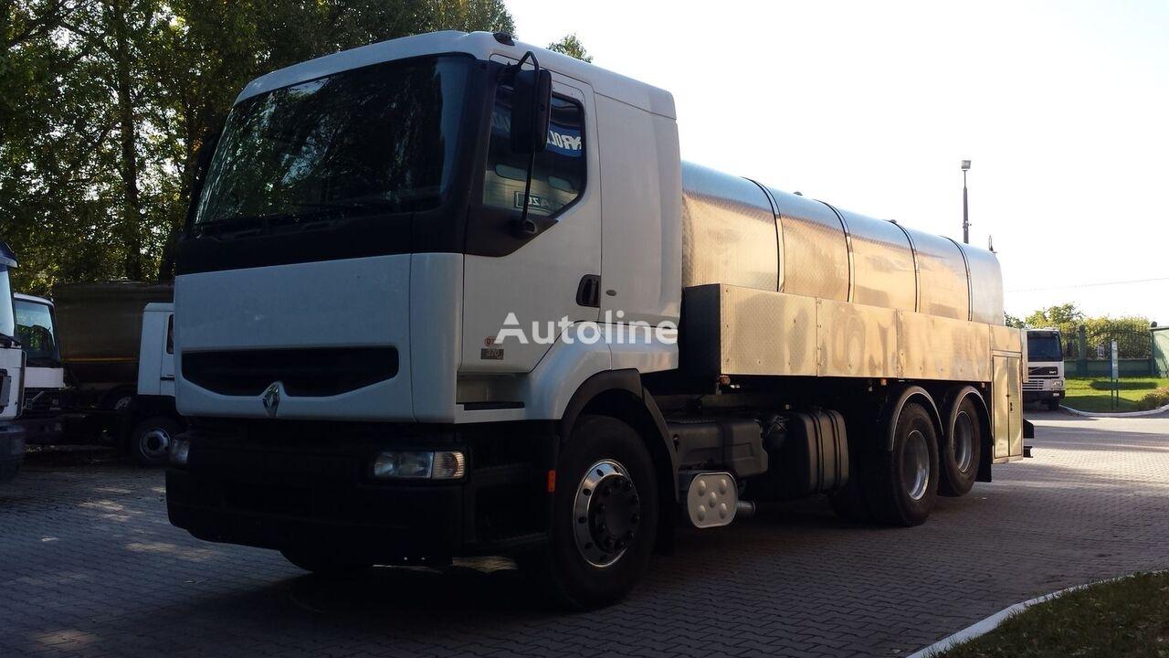 камион млековоз RENAULT Premium 370DCI Cysterna Spożywcza