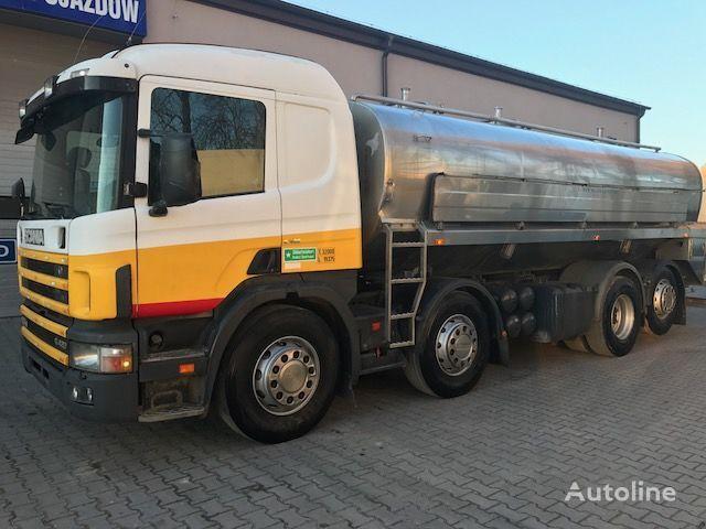 камион млековоз SCANIA 124G 420KM