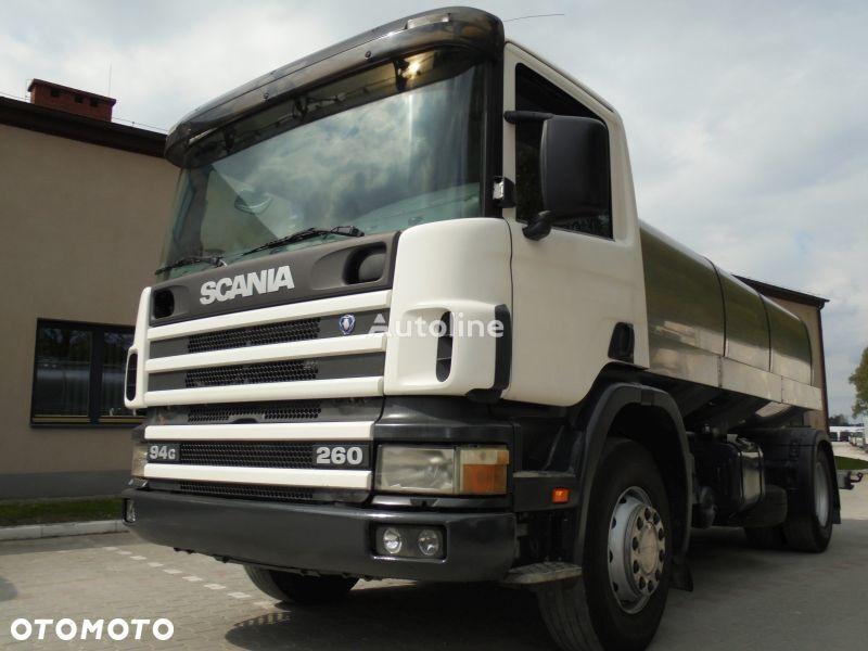 камион млековоз SCANIA P260