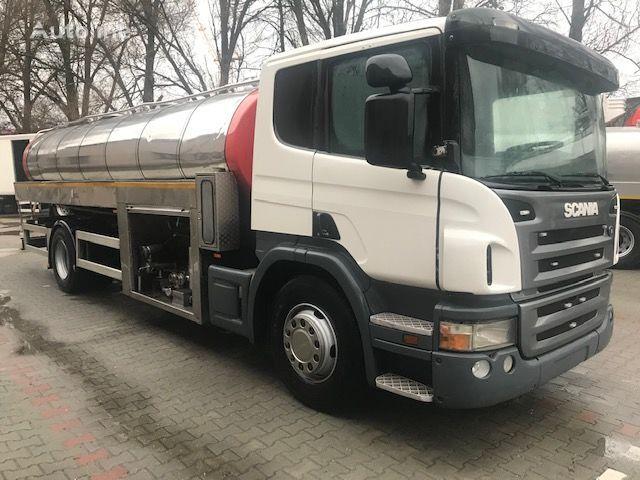 камион млековоз SCANIA P380