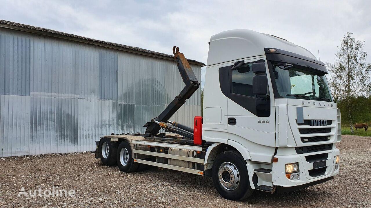 камион мултилифт с кука IVECO STRALIS 560