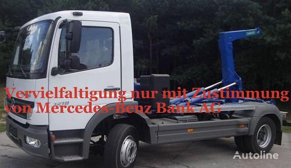 камион мултилифт с кука MERCEDES-BENZ Atego 1218
