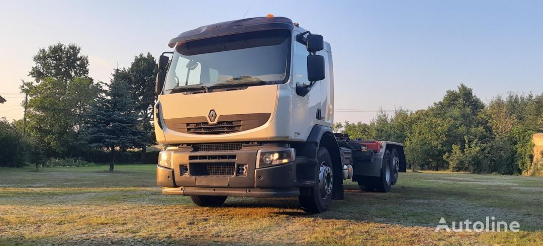 камион мултилифт с кука RENAULT PREMIUM 430 EEF
