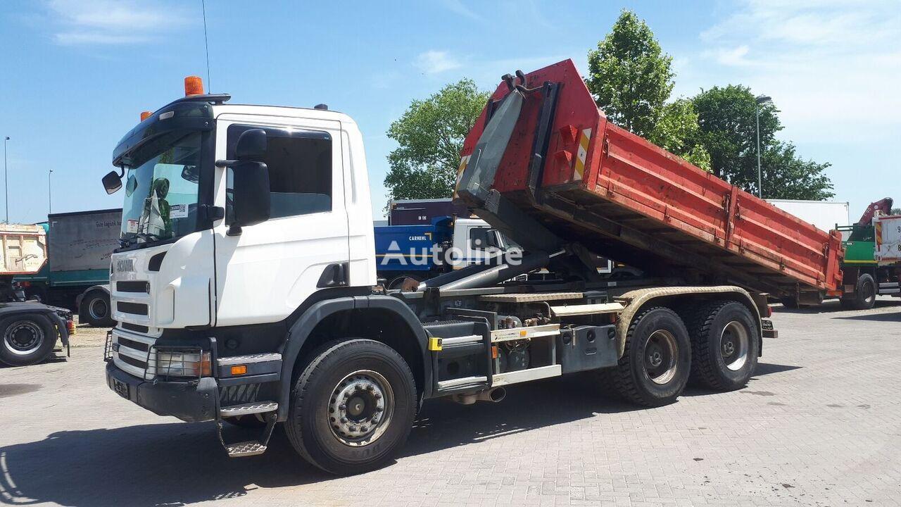 камион мултилифт с кука SCANIA P340 6X4 / EU BREIF