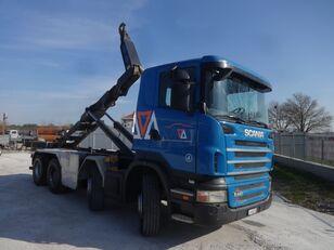 камион мултилифт с кука SCANIA R440 8X4 RETARDER EURO-5