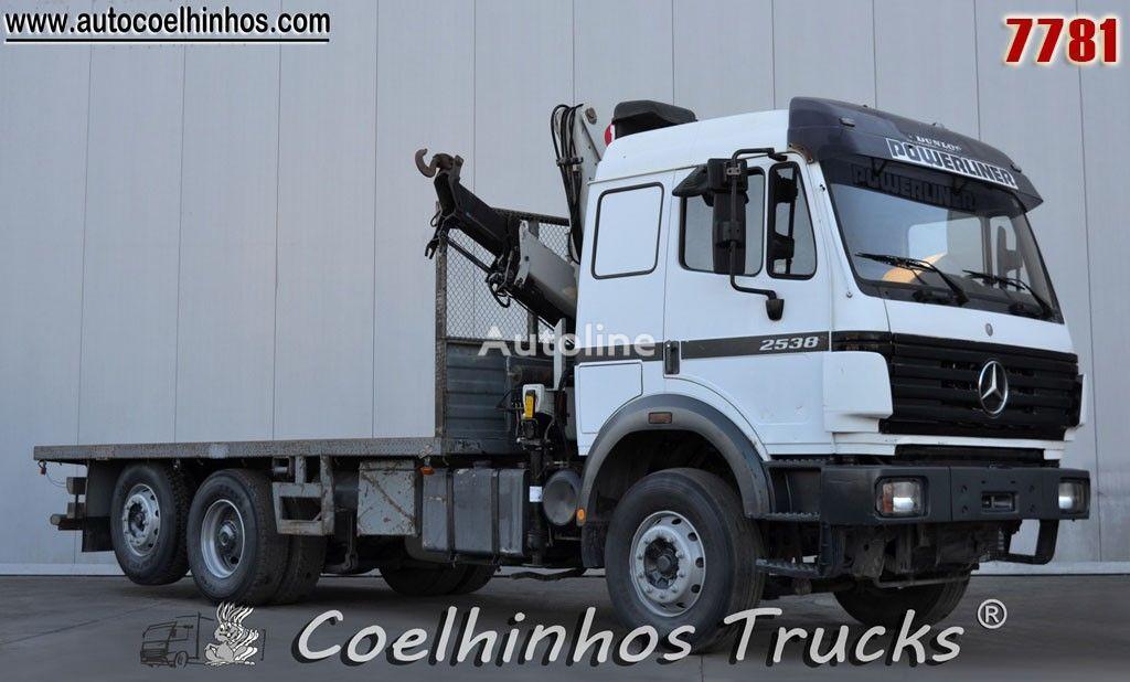 камион платформа MERCEDES-BENZ 2538 SK