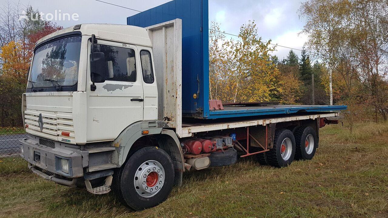 камион платформа RENAULT G300 6x4 Steel/Steel (G340/Maxter/Magnum/Major/385/420/430)