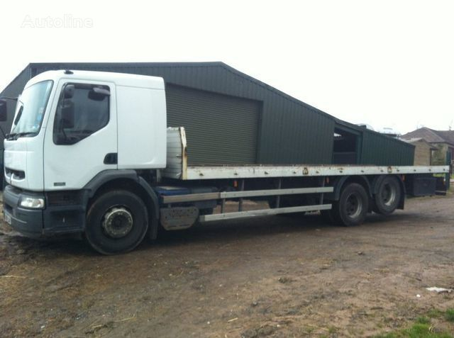 камион платформа RENAULT PREMIUM 320 DCI