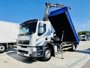 камион самосвал VOLVO FE FL FH FM 18.280 E5  kiper + kran , 4x2 Super stan !