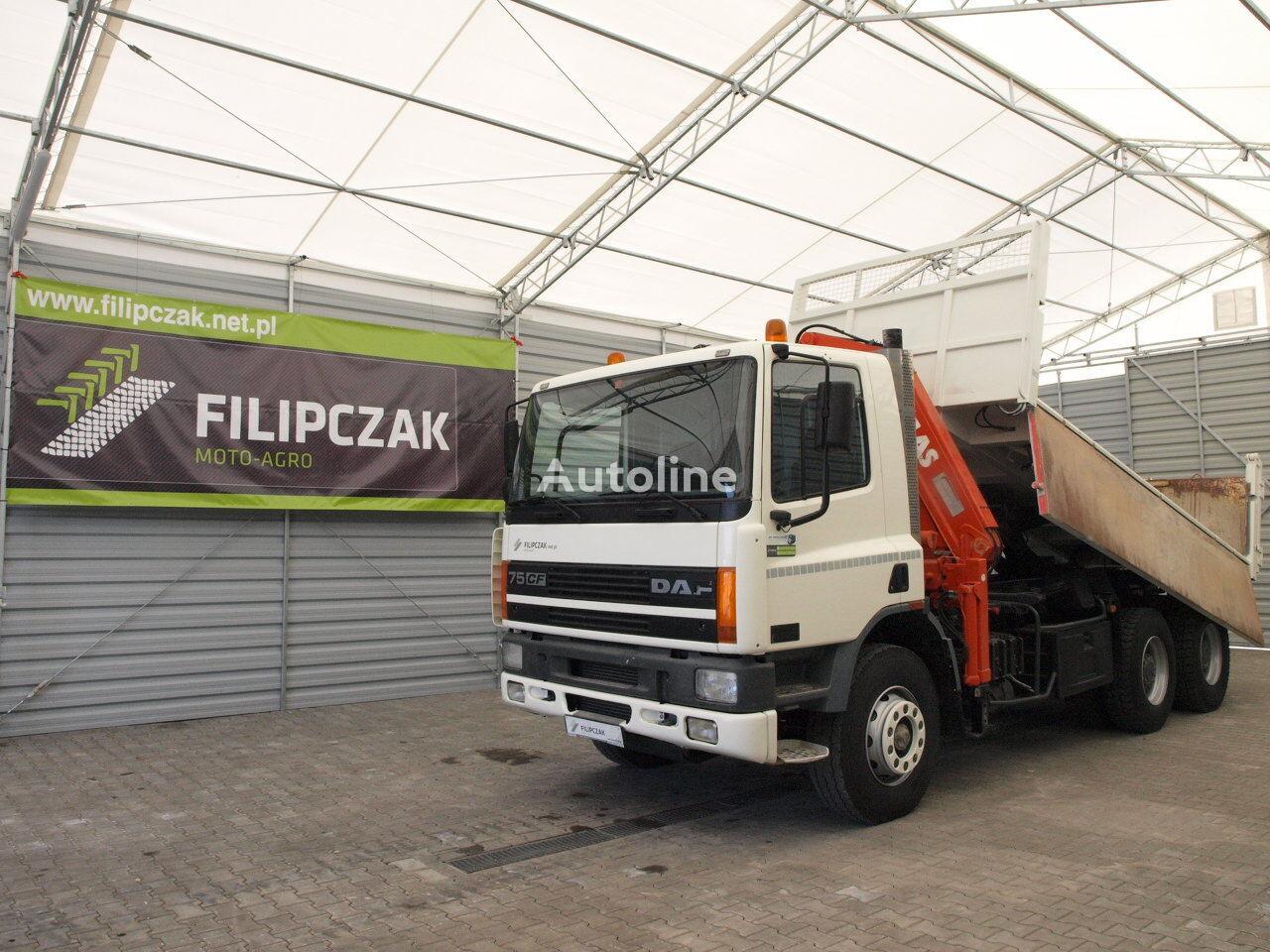 камион самосвал DAF CF 75 320