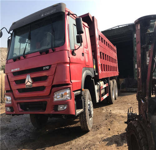 камион самосвал HOWO HOWO 6X4 375HP dump truck