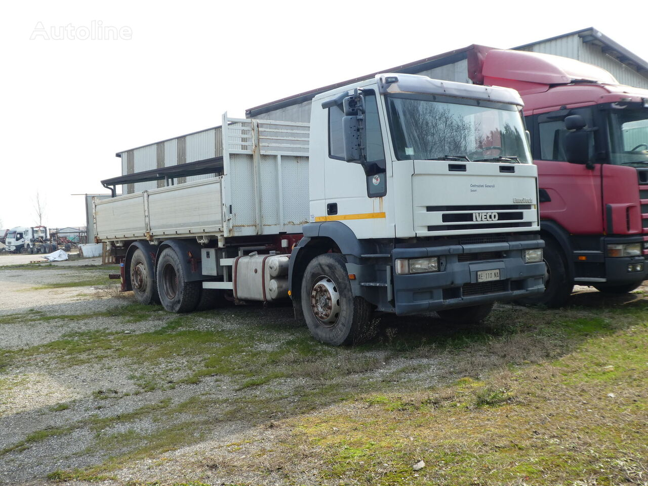 камион самосвал IVECO EUROTECH 240E42 3 Seiten Kipper