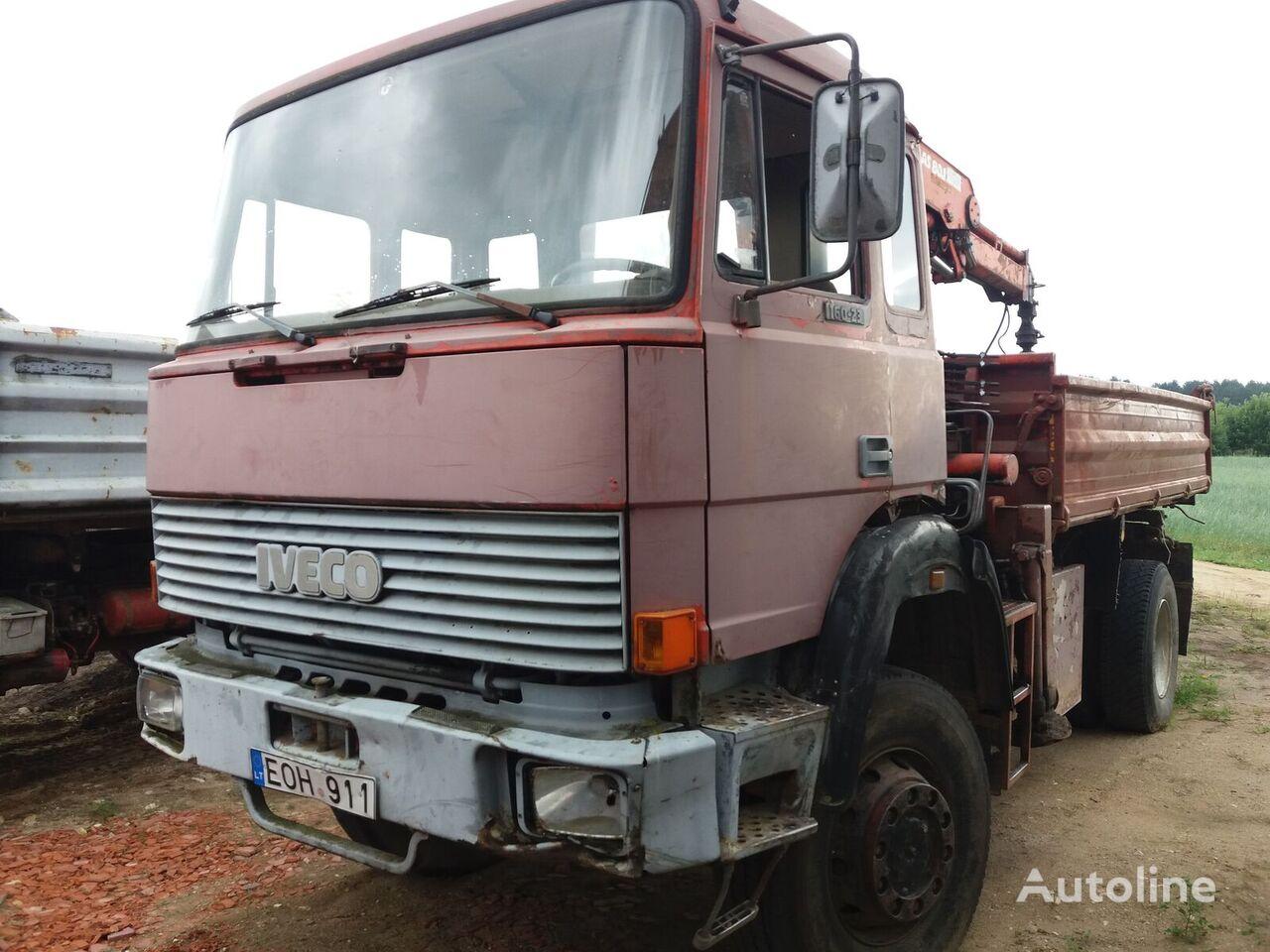 камион самосвал IVECO Magirus 160 - 23