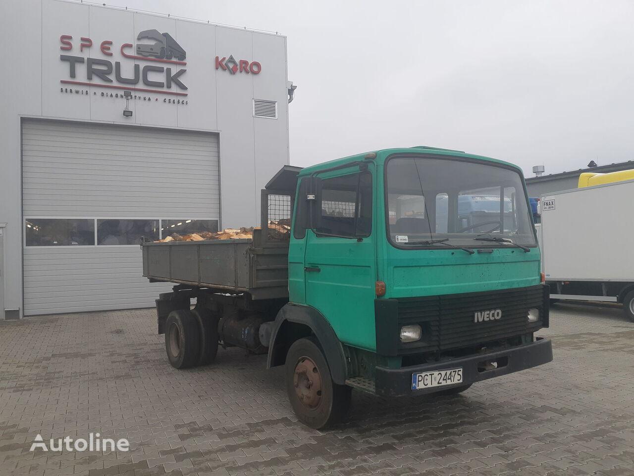 камион самосвал IVECO Magirus Deutz M 130, Full Steel, Tipper, Hook
