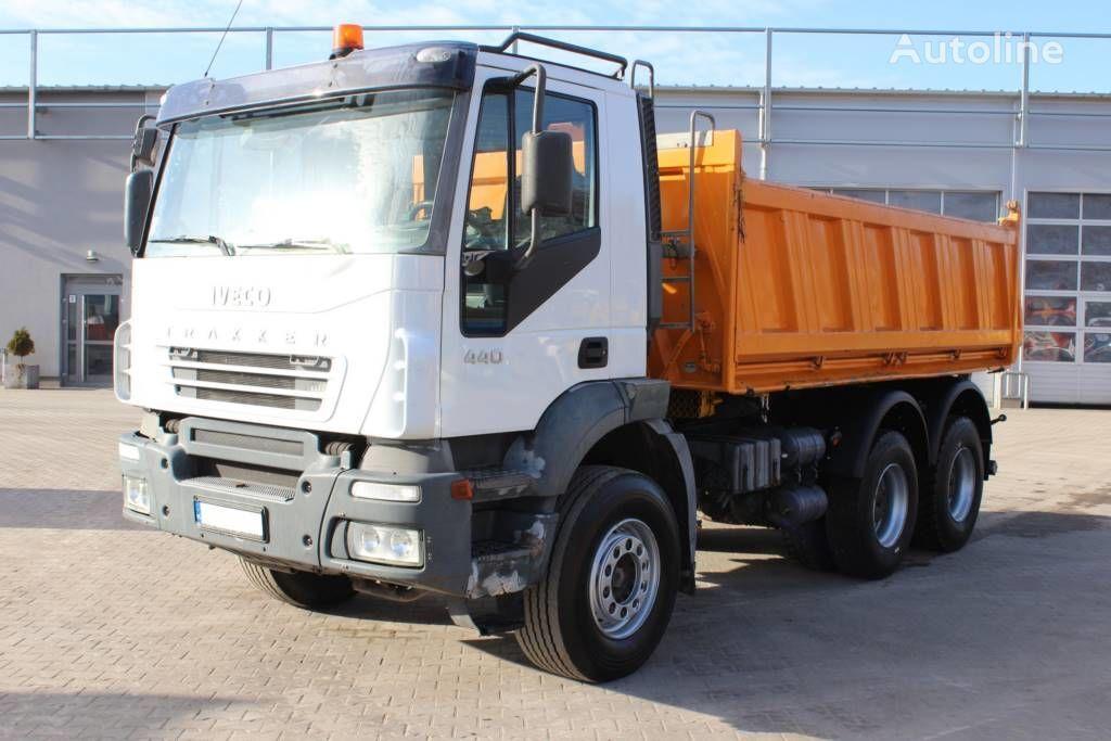 камион самосвал IVECO Trakker 440 6x4 tipper 3W