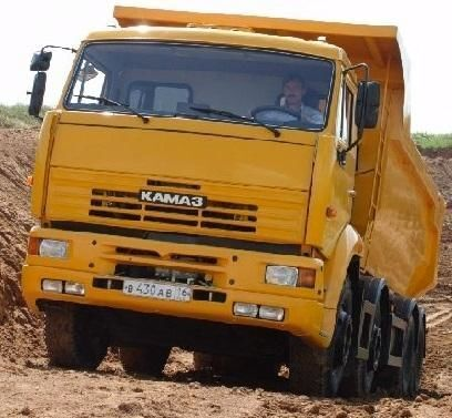 нов камион самосвал КАМАЗ 65201