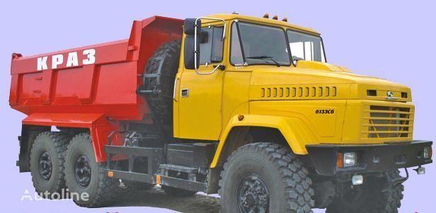 нов камион самосвал КРАЗ 6133C6