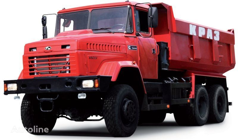 нов камион самосвал КРАЗ 65032