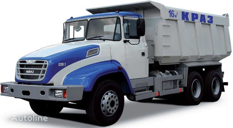нов камион самосвал КРАЗ С18.1