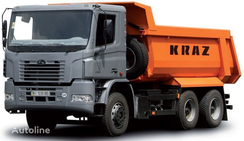 нов камион самосвал КРАЗ С20.2