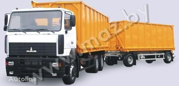 нов камион самосвал МАЗ 6501А5 автопоезд