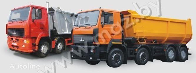 нов камион самосвал МАЗ 6516А8