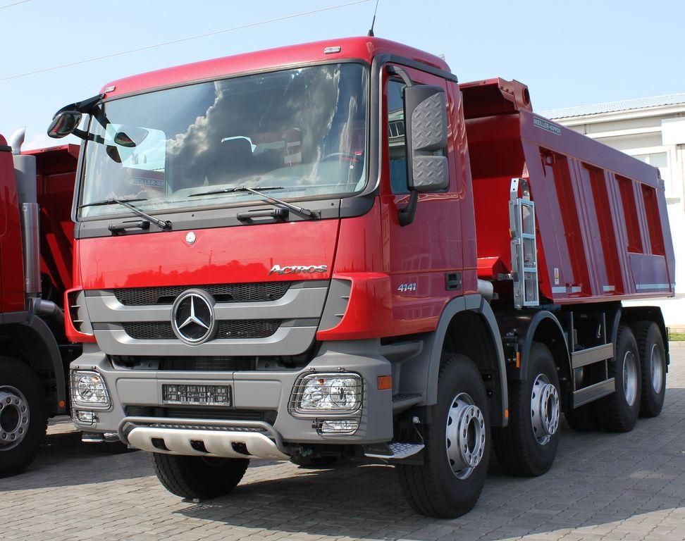 нов камион самосвал MERCEDES-BENZ Actros 4141 K