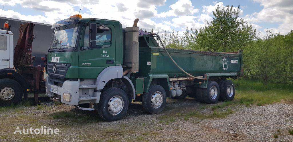 камион самосвал MERCEDES-BENZ Actros Axor 3236 Dump 8x4 Blatt Manual