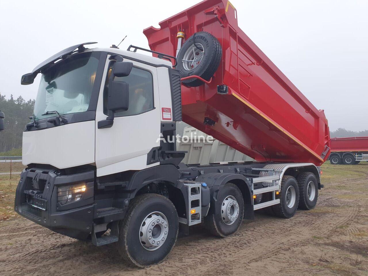 нов камион самосвал RENAULT K460 8x4