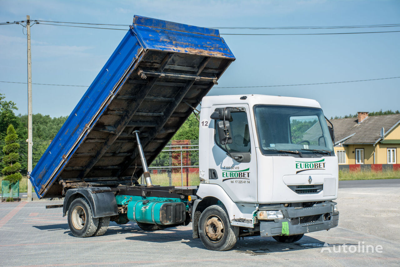 камион самосвал RENAULT Midlum / 4x2 / Kipper / Manual /