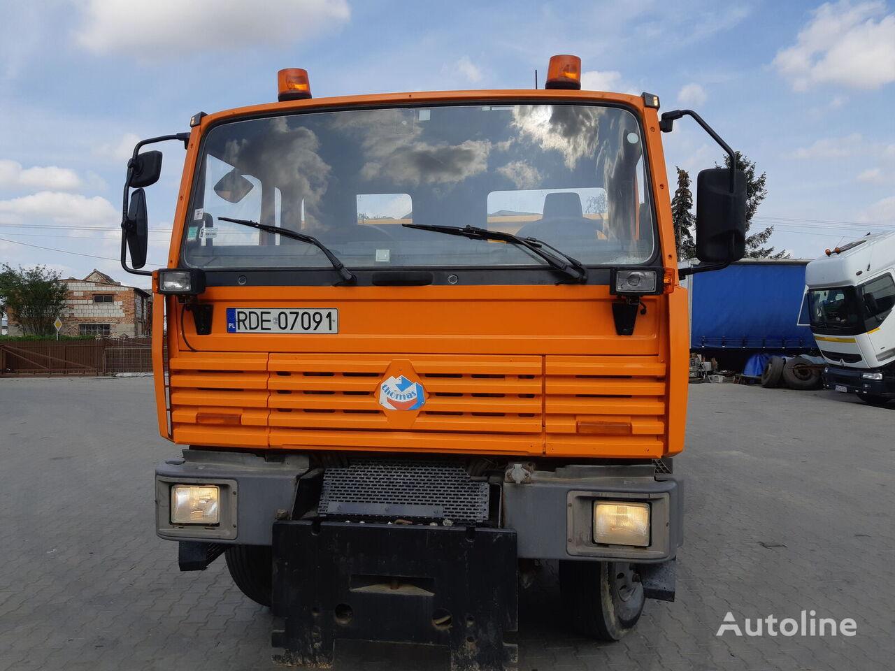 камион самосвал RENAULT Thomas Manager g340 4x4
