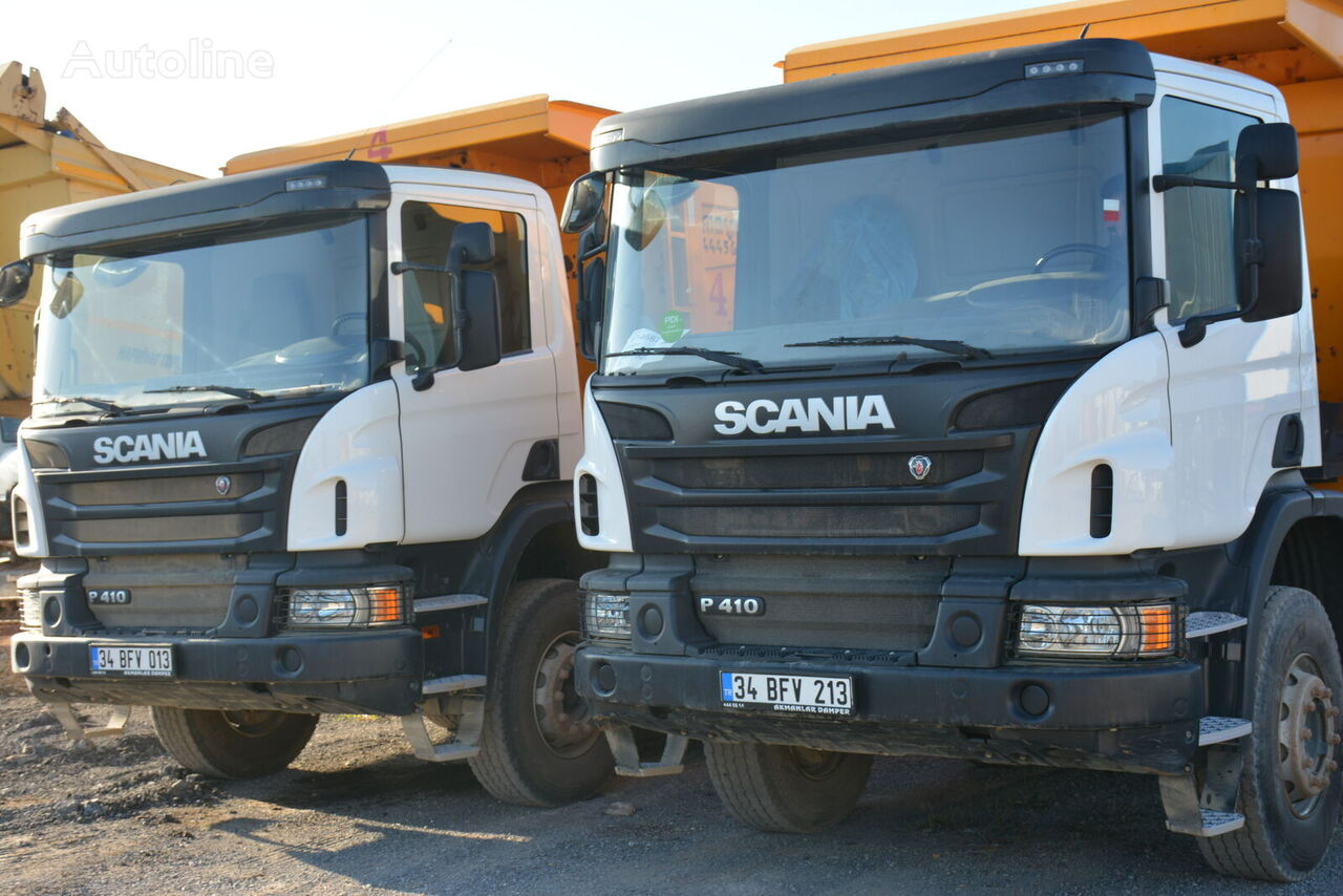 камион самосвал SCANIA  P410  2018 years NEW CABIN