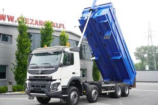 камион самосвал VOLVO FMX 410 , E6 , 8X4 , Tipper 20m3 , retarder , low cab , I-SHIFT