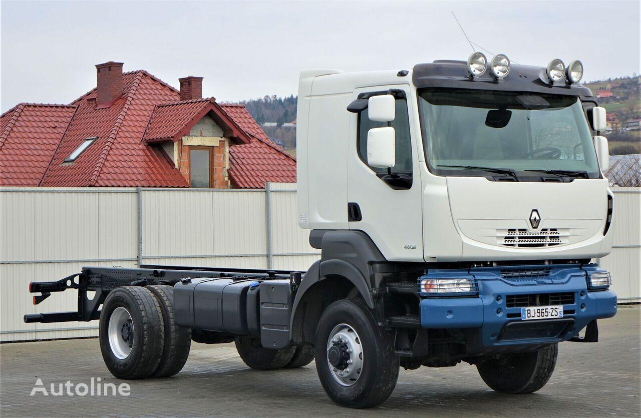 камион шаси RENAULT KERAX 460 DXI Fahrgestell 5,80 m *4x4