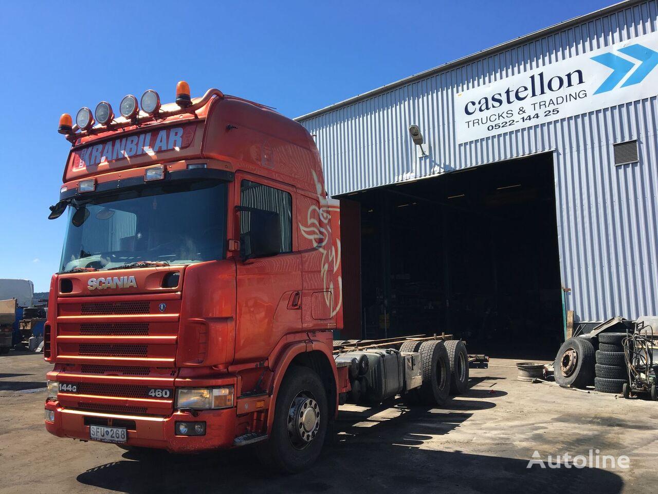камион шаси SCANIA 144