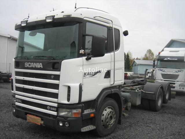 камион шаси SCANIA R164 580