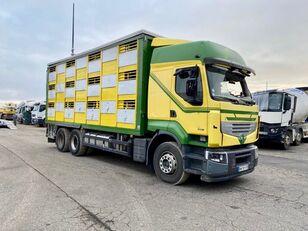 катастрофирал камион за превоз на животни RENAULT PREMIUM 460