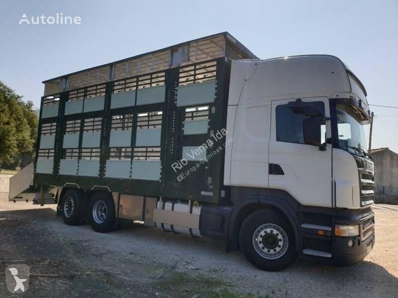 камион за превоз на животни SCANIA R