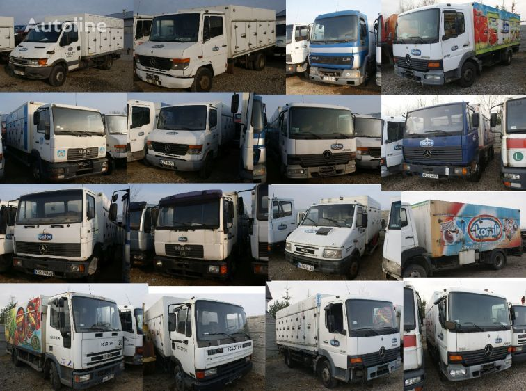 камион за сладолед MERCEDES-BENZ 814 1117  MAN 10-160 LE