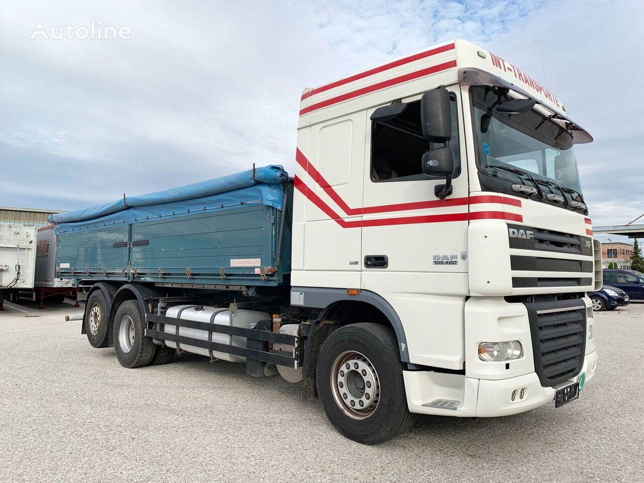 камион зърновоз DAF XF105