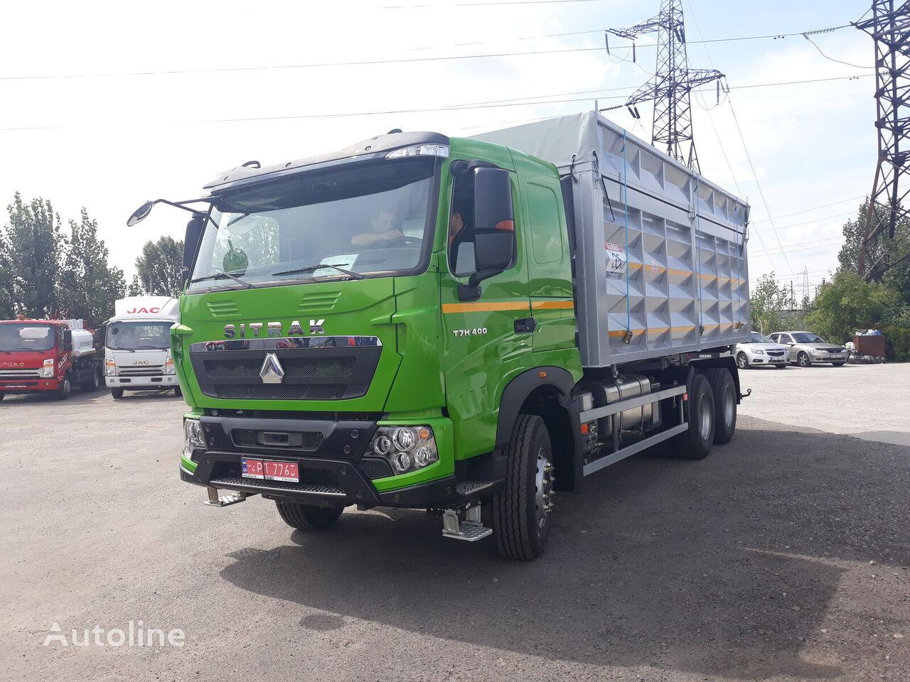 нов камион зърновоз HOWO T7H