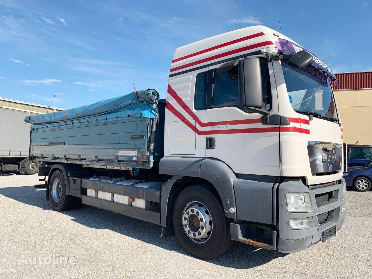 камион зърновоз MAN 18